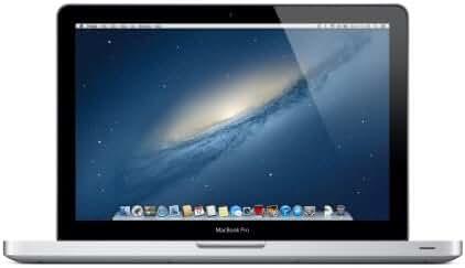 Apple MacBook Pro 13.3-Inch Laptop (Intel Core i5, 4 GB DDR3 RAM, 500 GB HDD, Mac OS X), Silver