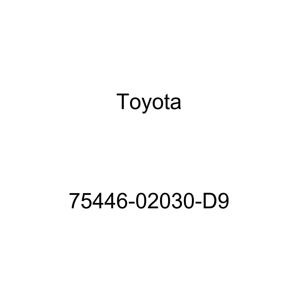 TOYOTA 75446-02030-D9 Name Plate