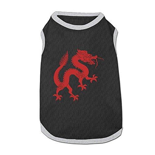 Dragon Quest 8 3ds Costumes (Dog Clothes Dragon Logo Dog Sweatshirts Sweatshirts Soft And Warm Polyester Fiber Dog Dog Shirt)