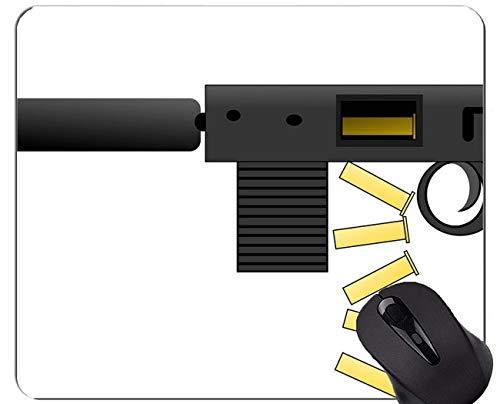 Gaming Mouse Pad, Gun Cleaning Mat Machine Gun Mouse Pads