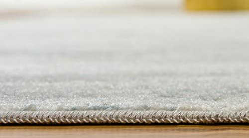 Unique Loom Paris Collection Pastel Tones Traditional Distressed Gray Area Rug 12' 2 x 16' 0 - the best living room rug for the money