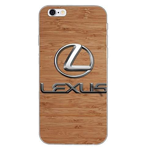 reputable site 07fbc 26428 Amazon.com: Luxury car Lexus Logo Silicone TPU Soft Phone case for ...