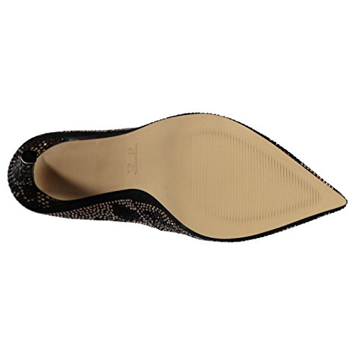 Steve Madden Piza Zapatos De Mujer Con Tacón De Aguja Dorado / Zapatos De Mujer Multideporte, Dorado / Multicolor, (uk7)