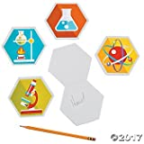 Science Party Laboratory Notepads - 12 ct