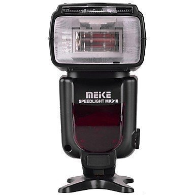 Meike MK910 i-TTL HSS 1/8000s HSS LCD Display Speedlite Master/Slave Flash for Nikon D3S D50 D60 D80 D200 D300 D500 D700 D750 D3000 D3100 D3300 D3400 D3500 D5000 and All Other Nikon DSLR Cameras