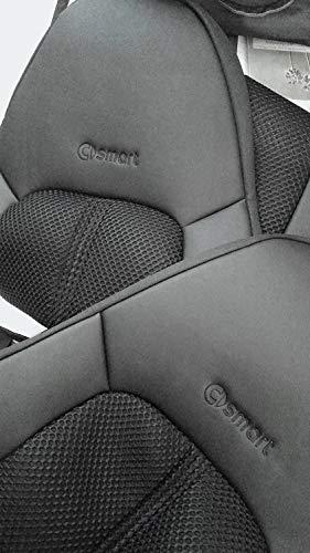 100/% su Misura Colore Nero TOPCAR-ATHENS 1+1 Coprisedili per Auto 450 Similpelle e Sintetici Set di coprisedili