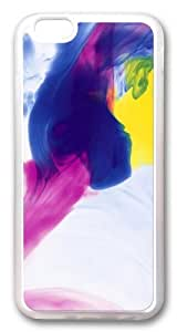 Color Ink Custom Case For Iphone 6 4.7Inch Cover PC Transparent