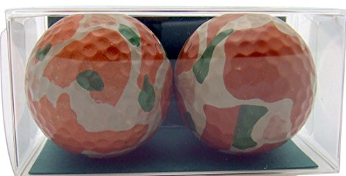 Golfer Gift Set of 2 Military Army Camouflage Golf Ball Gift ()