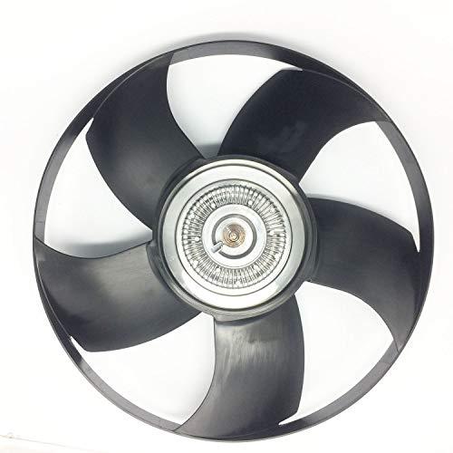 JSD Engine Cooling Fan Blade Clutch Assembly for Dodge Freightliner Sprinter 2500 3500 3.0L 2007 2008 2009 Ref# 000 200 73 23