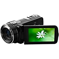 Digital Video Camera, Blueseao Ordro HDV-Z8 HD 24 Mega Pixel Camcorder, 16× Digital Zoom with Rotation LCD Touch Screen US STOCK