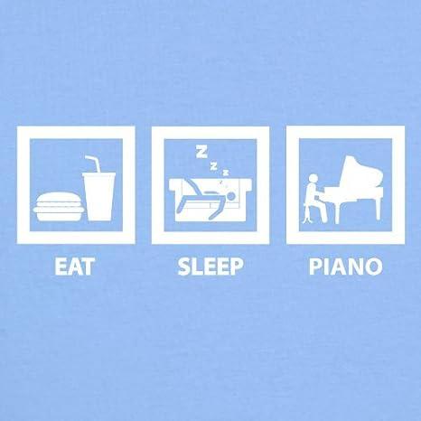 7 Couleur 0-18 mois B/éb/é-Body Eat Sleep Piano