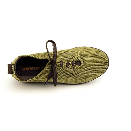 Shoes Arcopedico 38 1151 Olive Oxfords LS Size Womens gwvqZ4