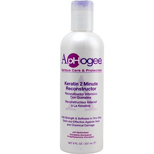 Aphogee Keratin 2 Minute Reconstructor, 8 oz Pack of 4