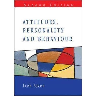 [(Attitudes, Personality and Behaviour)] [Author: Icek Ajzen] published on (March, 2006) ebook