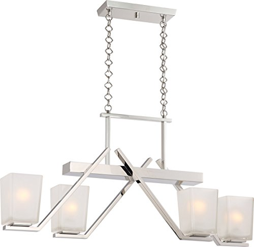 Nuvo Lighting Nuvo 60/5093 Four Light Trestle, Polished Nickel ()