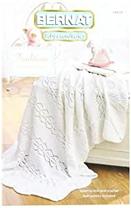 Spinrite Bernat Knitting and Crochet Patterns, Traditions Baby Coordinates