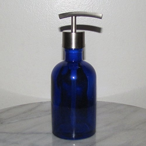 craft-innovation-boston-round-glass-soap-dispenser-with-metal-stainless-steel-pump-8-ozmodern-stainl