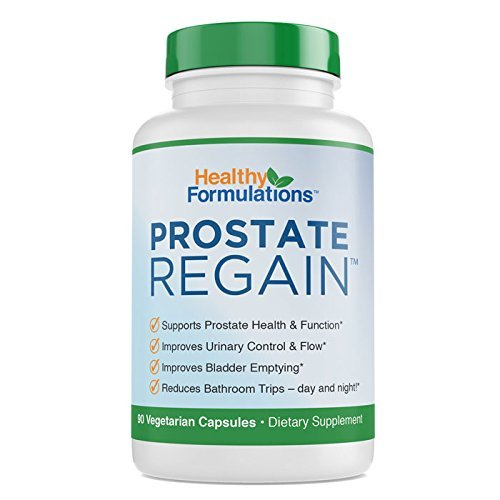Prostate Regain Beta Sitosterol, Saw Palmetto, Flower Pollen Natural Prostate Supplement for prostate health and improved urine flow (1 Month Supply) For Sale