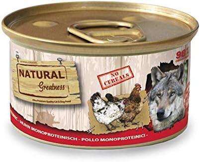 Natural Greatness Comida Húmeda para Perros Receta Monoproteica de ...