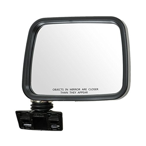 Chrome Manual Mirror Passenger Side Right RH for Isuzu Rodeo Pup ()
