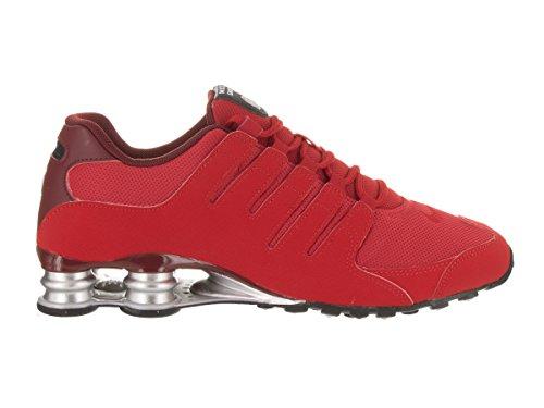 Nike Herren Shox NZ EU Laufschuhe Universität Rot / Weiß / Team Rot