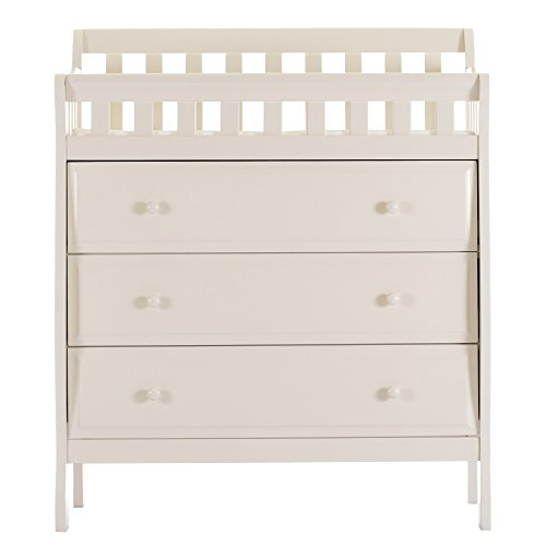Dream On Me Marcus Changing Table and Dresser, French White by Dream On Me