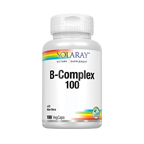 (Solaray B Complex Supplement, 100mg, 100 Count)