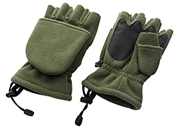 a10435a5c2b Trakker Polar Fleece Gloves  Amazon.co.uk  Sports   Outdoors