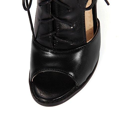 Fashion HeelSandals - Zapatos con correa de tobillo mujer negro