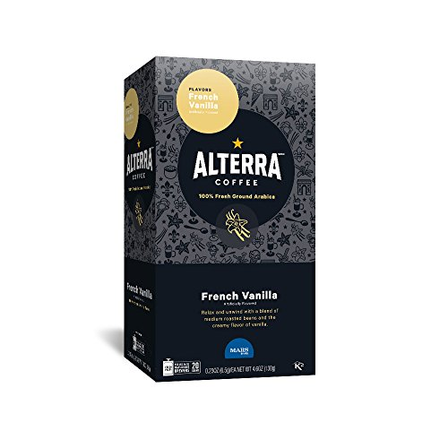 ALTERRA Coffee French Vanilla Single Serve Freshpacks for MARS DRINKS FLAVIA Brewer, 20 Packets