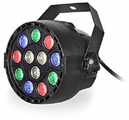 Pheonix 12LED PAR 30W Flashing/Strobe Focus Flood DJ Laser LED Light Disco Party