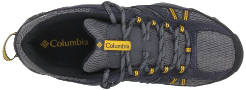 Columbia NORTH PLAIN WP - Zapatos de senderismo de material sintético hombre Gris (Charcoal / Gallion)