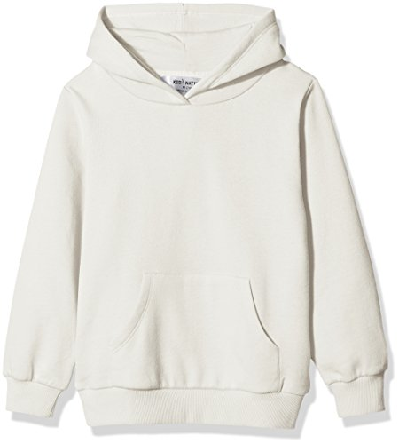 Kid Nation Kids' Solid Fleece Hooded Pullover Sweatshirt for Boys Or Girls XS (Solid Fleece Hoodie)
