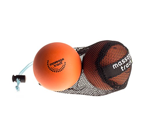 Lacrosse Ball Massage Set for Myofascial Release, Mobility & Physical Therapy - Great for Neck & Foot