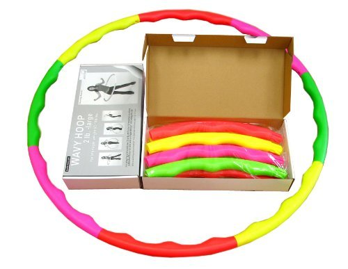 Sports Hoop for Excercise: Wavy Hoop 2B - 1.8lb (Dia.40.5