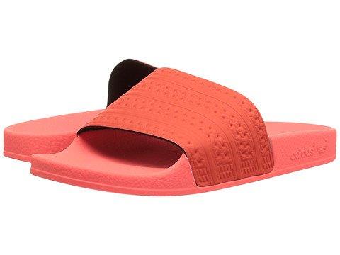 くしゃみ知覚できる早熟(アディダス) adidas メンズサンダル?靴 adilette Easy Coral/Sun Glow 14 32cm D - Medium [並行輸入品]