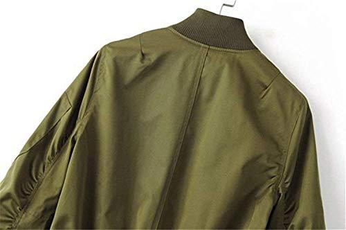 Femme Printemps Automne Jacket Automne Automne Printemps Jacket Femme Automne Printemps Femme Femme Jacket Printemps Jacket Jacket qwAxt0xU