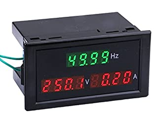 Voltage Frequency Meter Multimeter,Yeeco AC 250-450V 100A Din-Rail