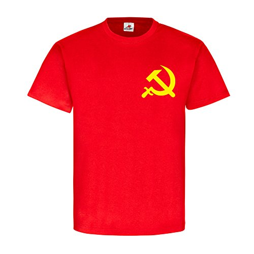 (USSR Russia hammer sickle Soviet Union SU emblem breast badge communism)