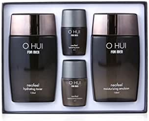 Ohui For Men Neofeel Special Set total 4pcs ( Neofeel Hydrating Toner + Neofeel Moisturizing Emulsion + 2 Travel Kit )