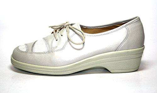 Ganter, Scarpe stringate donna Bianco offwhite/weiß 36