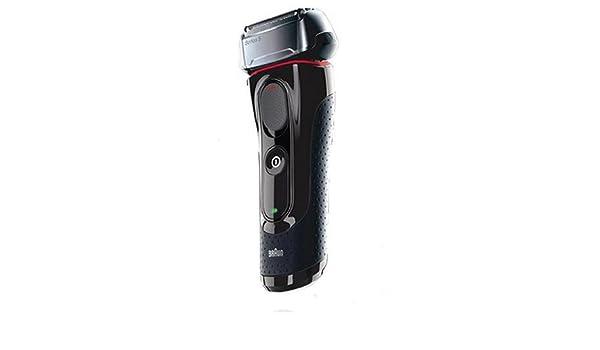 Braun 5030s Serie 5 afeitadora eléctrica Wet & Dry recargable Color Negro/ Rojo: Amazon.es: Salud y cuidado personal