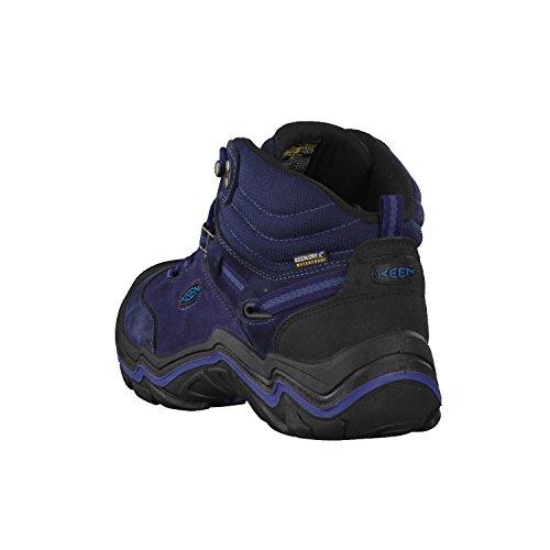 Keen Wanderer Mid Wp, Zapatos de High Rise Senderismo para Mujer DARK SEA