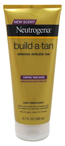 Neutrogena Build-A-Tan Sunless Tan 6.7 Ounce 198ml 3 Pack