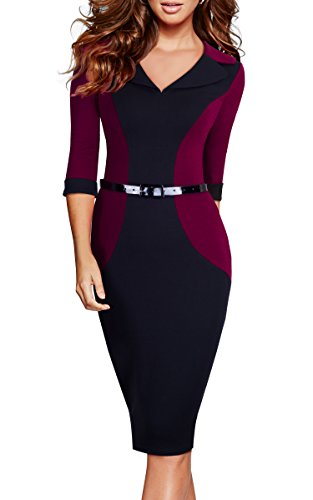 Buy belted pencil dress - 6