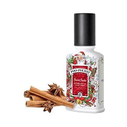 Poo Pourri Secret Santa Claus Christmas Bathroom Spray - 4 Oz, 4 Fl. Oz by Poo Pouri