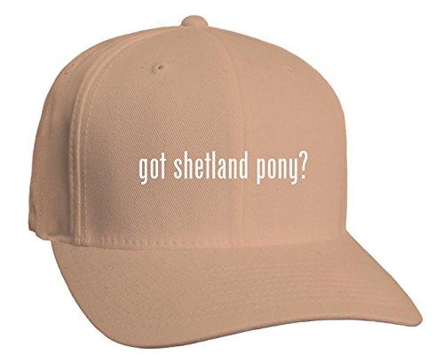 got shetland pony? Adult Baseball Hat, Khaki, Small/Medium (Baseballs For Shetland)