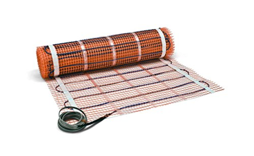 Electric floor heat strips