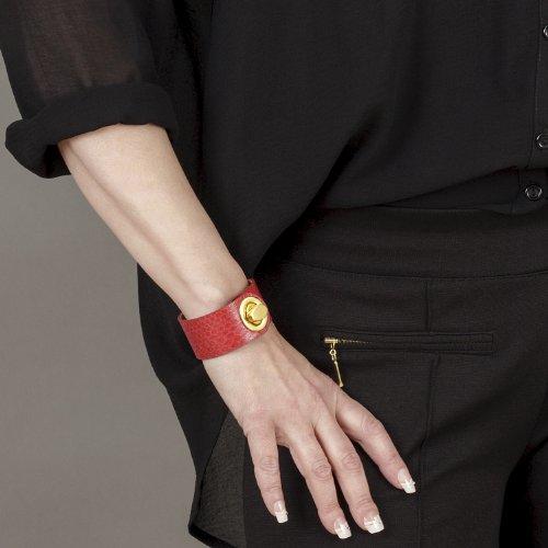 OFFRE porté LYRA main de SUPER serpent Sac veau 1 main GRATUIT doux BELUCIA véritable bracelet Brillant 2 à de LECCE cuir EN grain Sac de Rouge Rouge cuir 0n5qRnPS4W