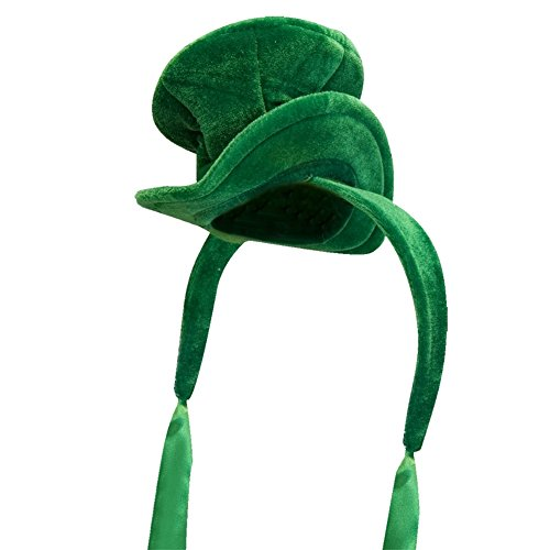 Green Cocktail Top Hat Costume Accessory (Drunk 1 Costume Tshirt)